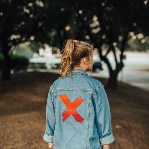 In It To Prevent It Denim Jacket